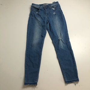 Levi's 721 High Rise Skinny Jeans Size 28
